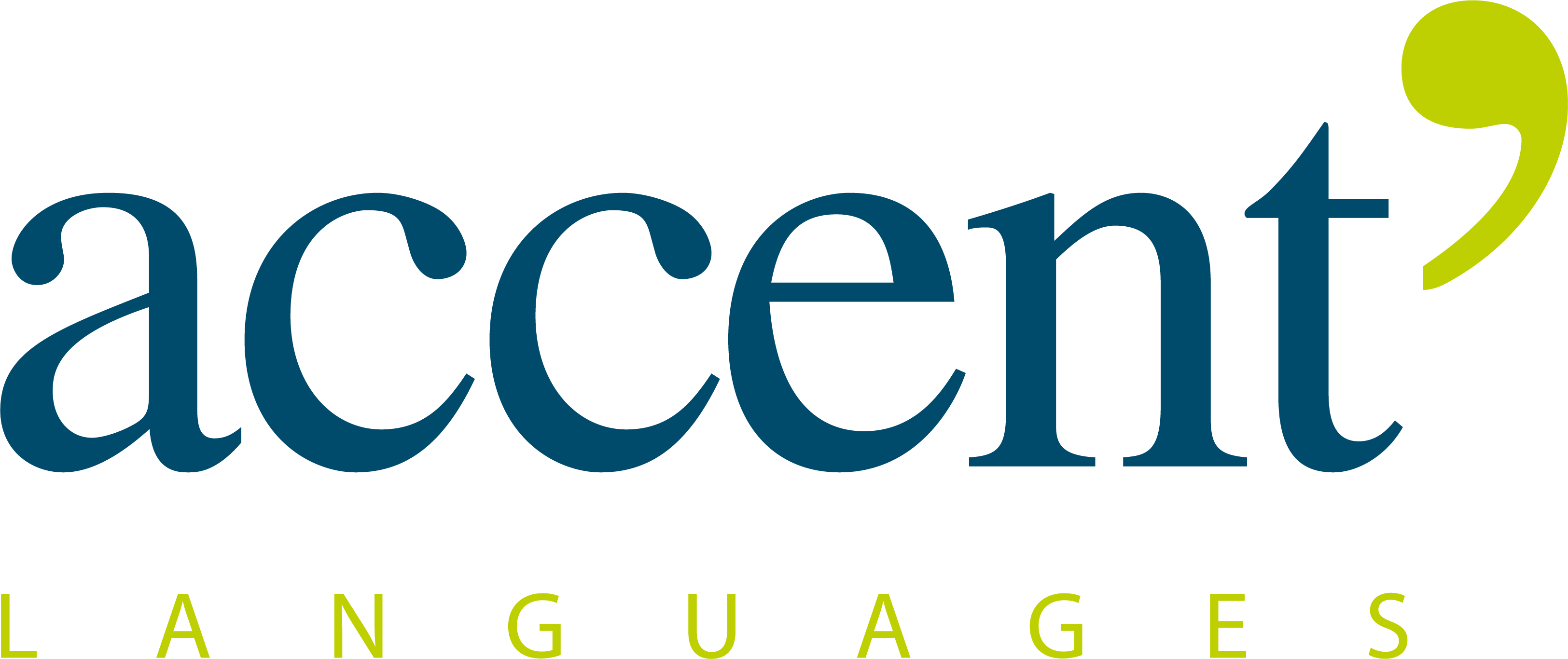 Logo couleur Accent Languages
