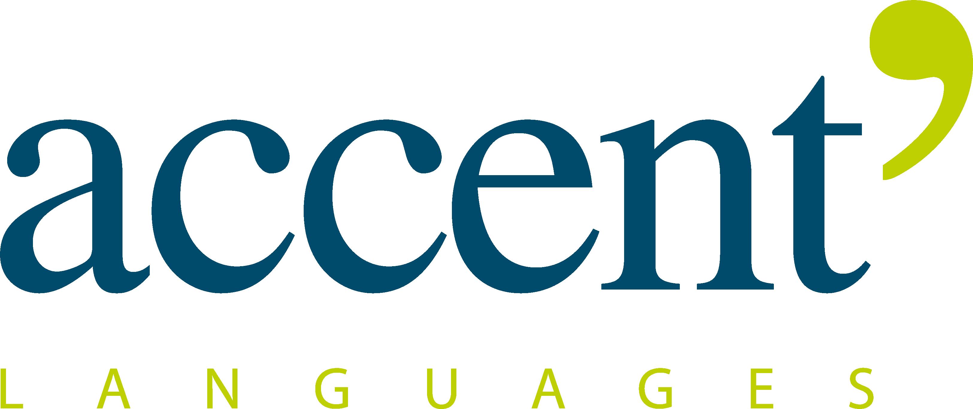 Logo couleur Accent Languages