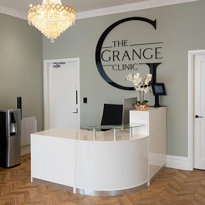 The Grange Clinic reception