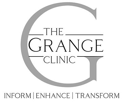 The Grange Clinic logo & strapline