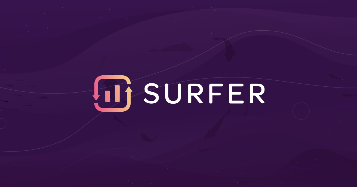 Data-Driven SEO Tool for On-Page and Beyond · Surfer