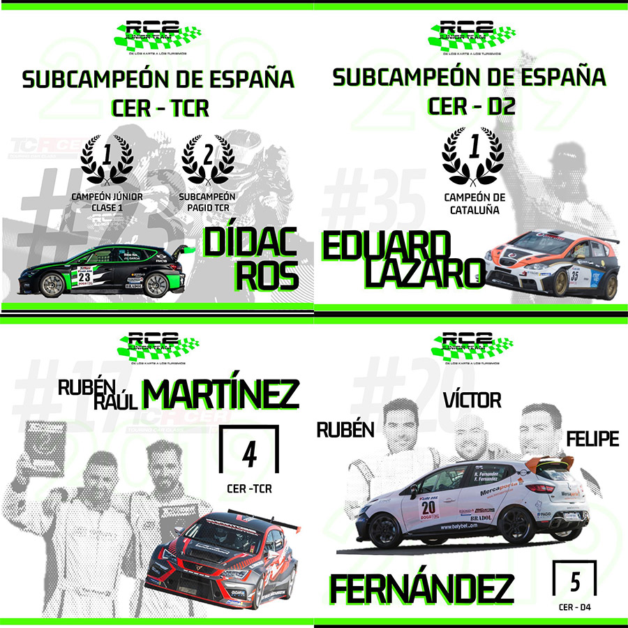 Temporada RC2JUNIORTEAM CER 2019