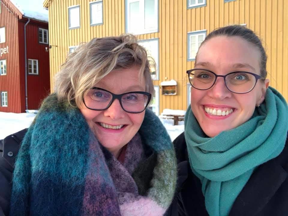 Marit Rein og Christine K Hansen