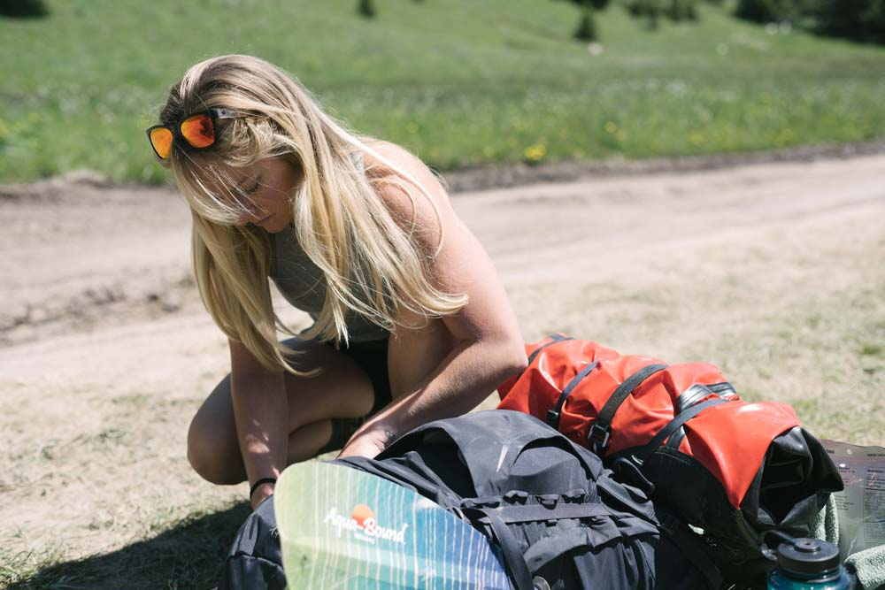 Gastro Gnome founder heading out on packrafting trip.