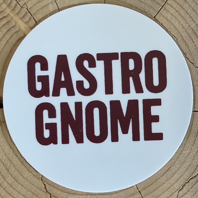 Gastro Gnome Sticker