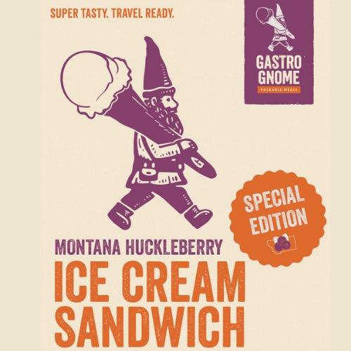 Huckleberry Ice Cream Sandwich