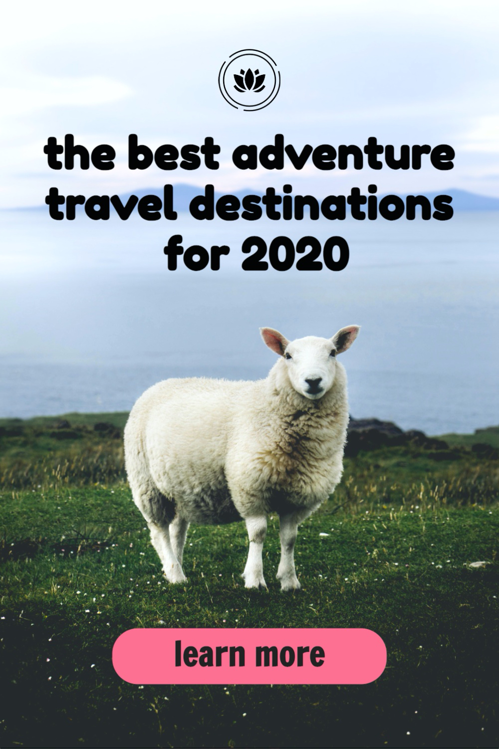Travel Pinterest Pin image created by Tailwind using a Tailwind Create design template in 2021.