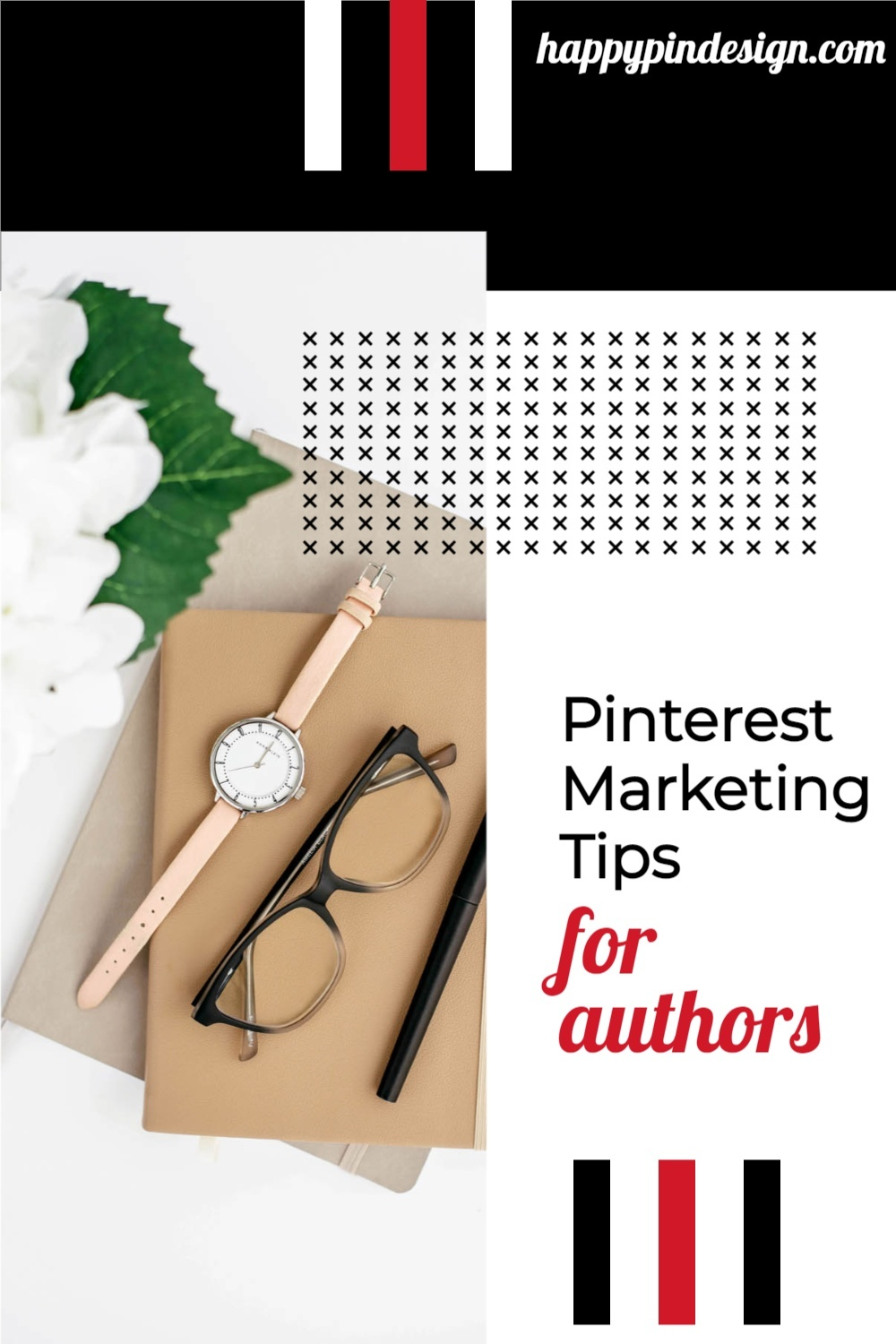 Marketing Pinterest Pin image created by Michelle Buck - Happy Pin Design using a Tailwind Create design template in 2021.