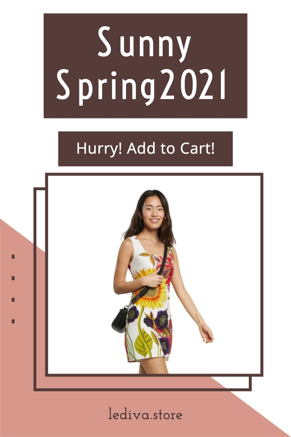 Women's fashion Pinterest Pin image created by Sandi_J using a Tailwind Create design template in 2021.