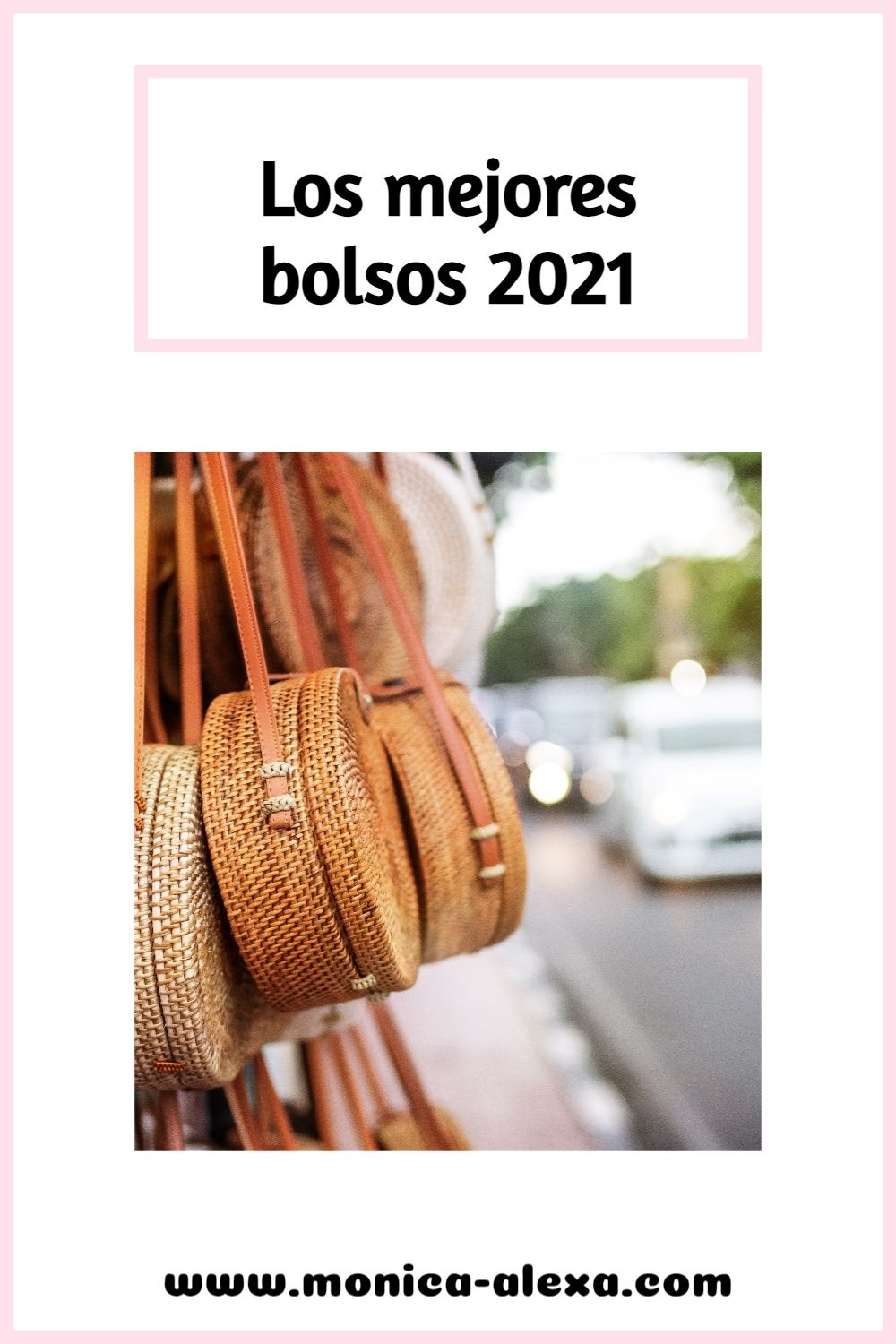 Women's fashion Pinterest Pin image created by Mónica using a Tailwind Create design template in 2021.