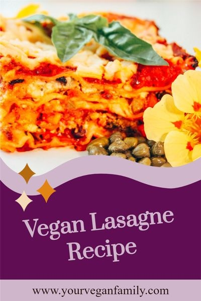 Food and drink Pinterest Pin image created by Your Vegan Family using a Tailwind Create design template in 2021.