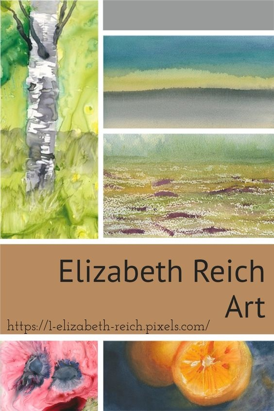 Art Pinterest Pin image created by Elizabeth Reich of LZBTH Creative Content using a Tailwind Create design template in 2021.