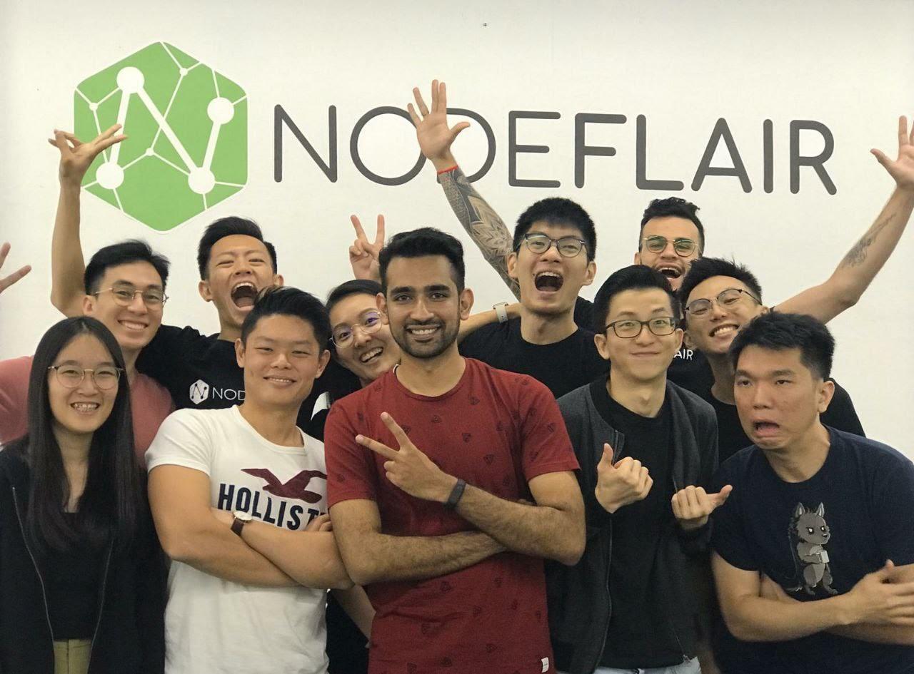 Team NodeFlair ready to meet you!