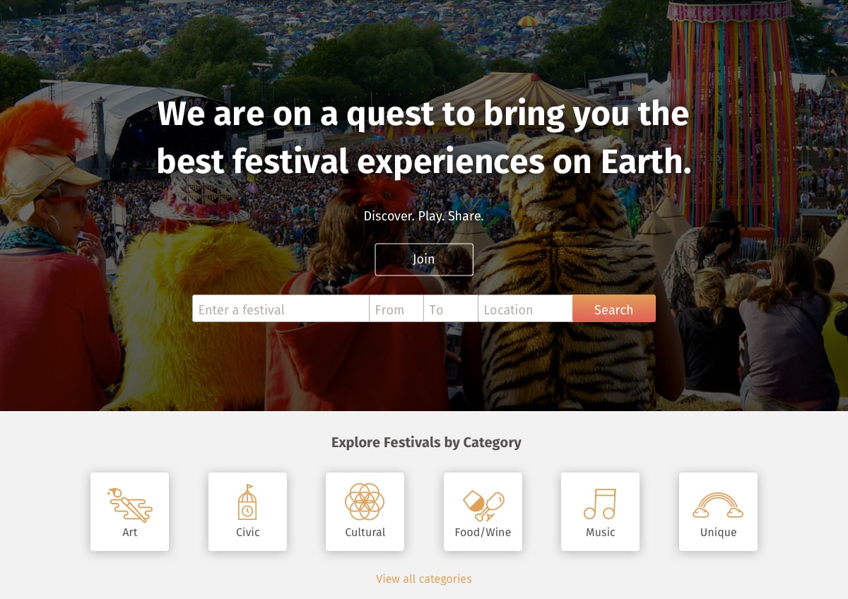 everfest home page