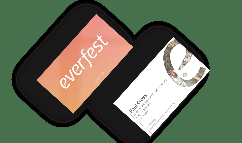 everfest business cards