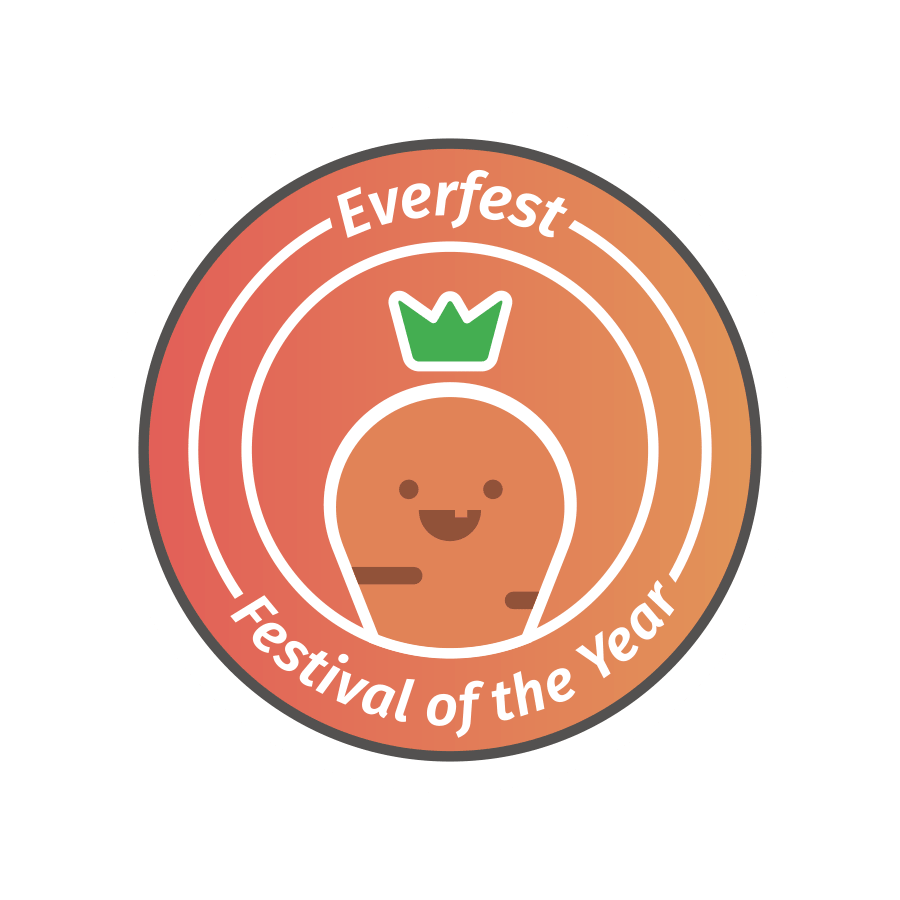 festival of the year sticker