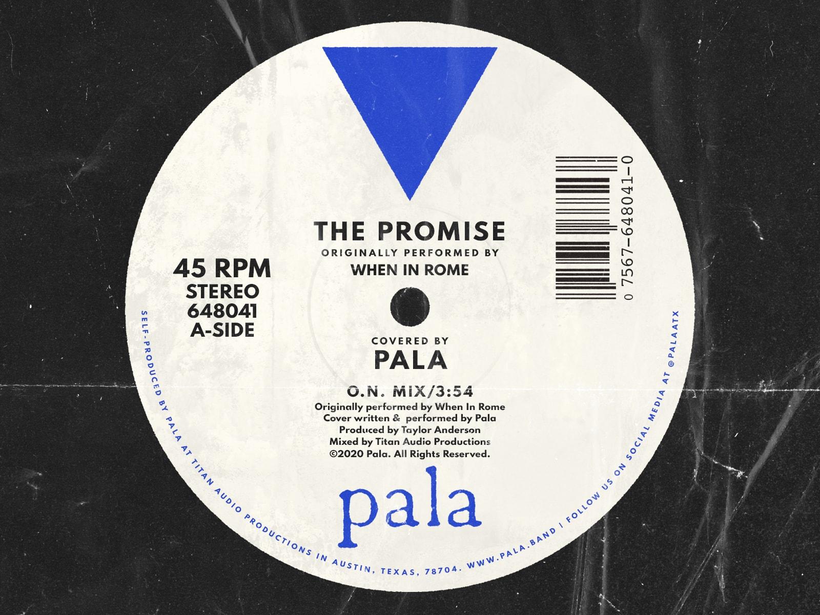 The promise album art