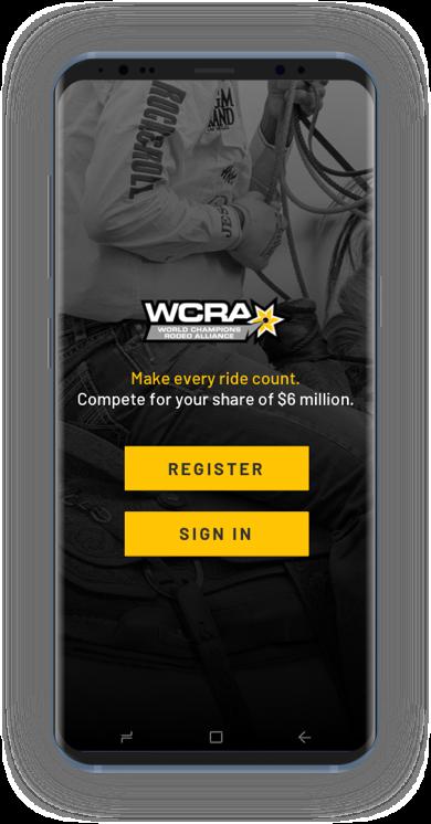WCRA phone mockup