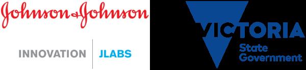 Johnson and Johnson + City of Victoria Logo
