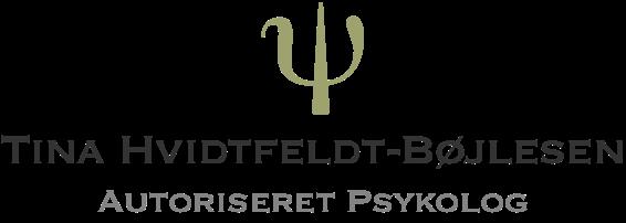 Tina Hvidtfeldt-Bøjlesen - Autoriseret psykolog