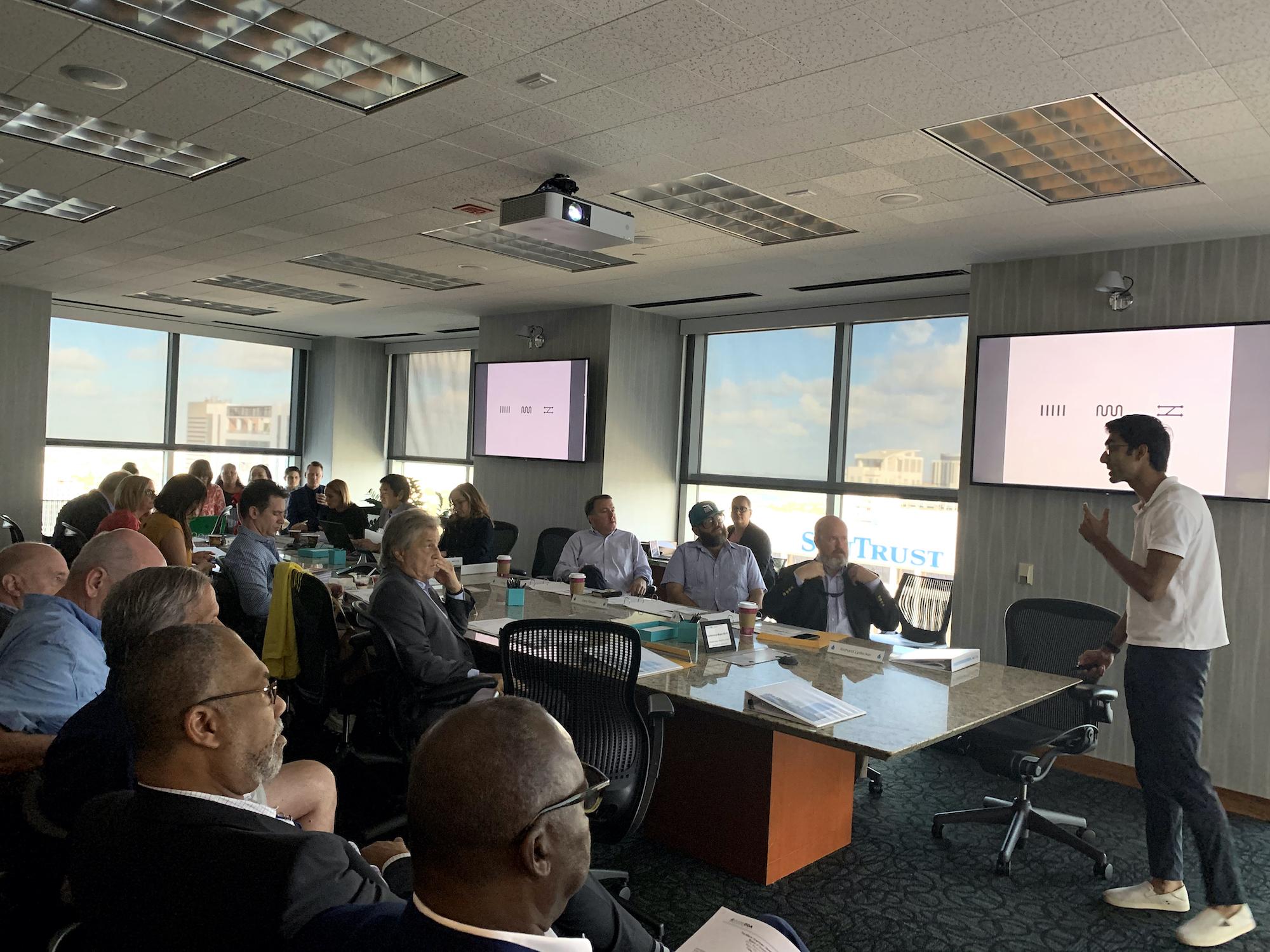 Community Presentation at the DDA