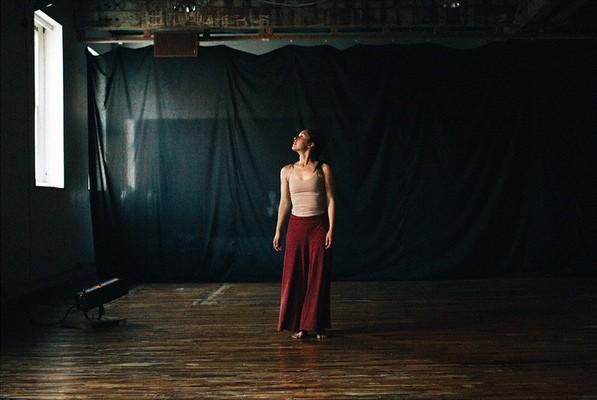 Antonia dancing a solo