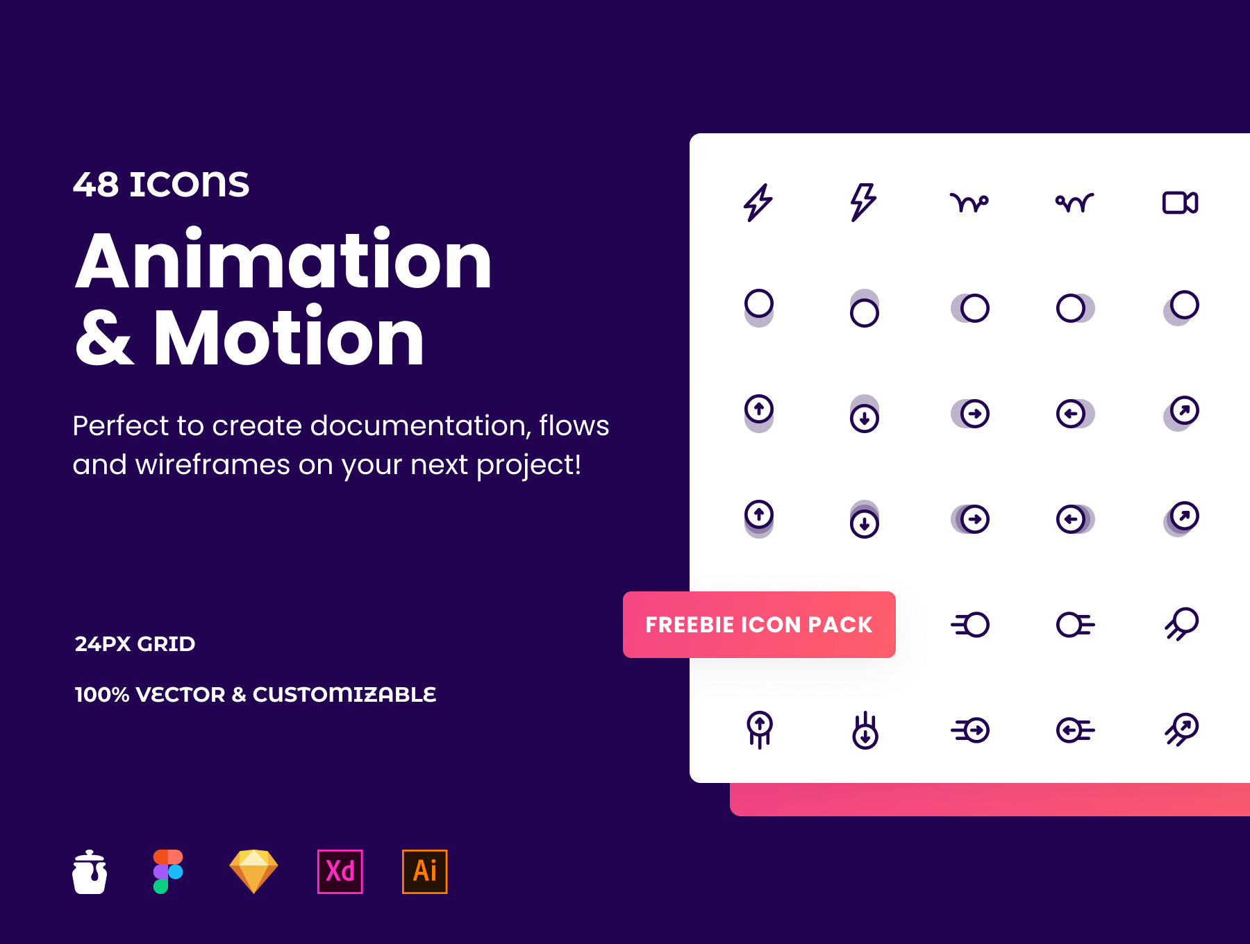 animation and motion icons