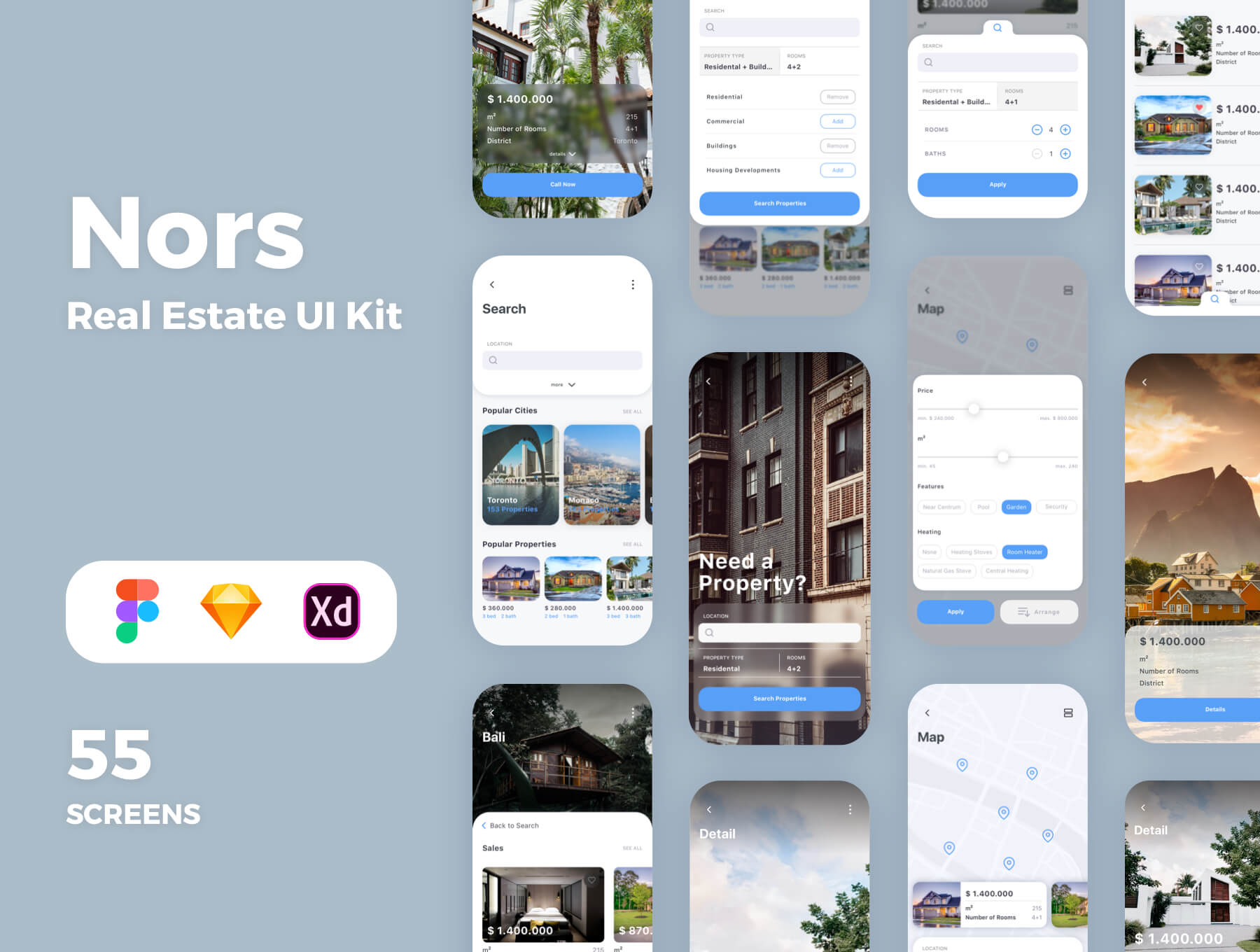 Nors Real Estate app