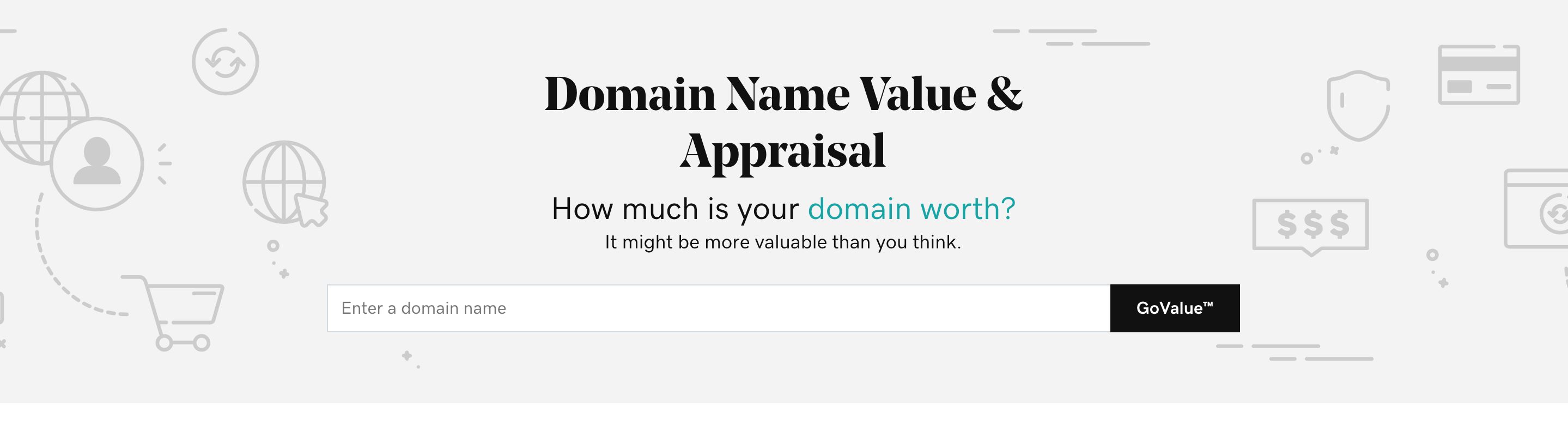Domain name value tool