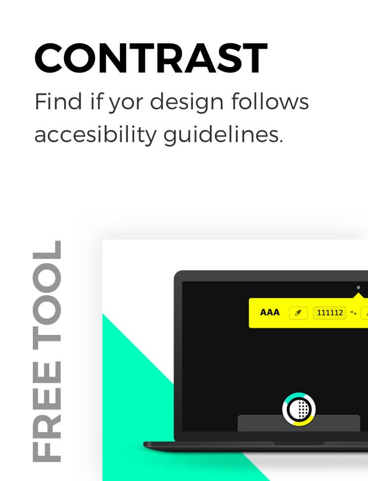 Design contrast evaluation tool