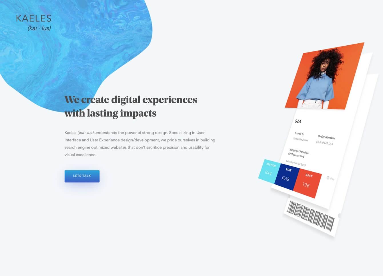 Agency website templates