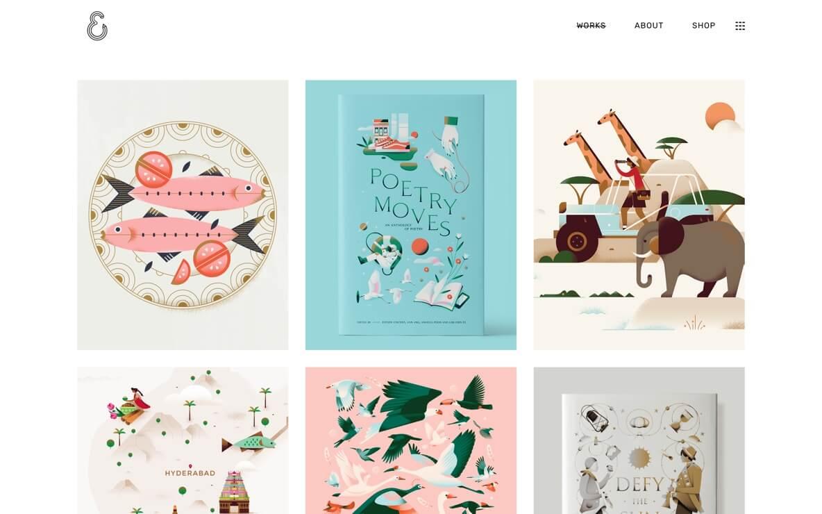 Elena Winata art director portfolio