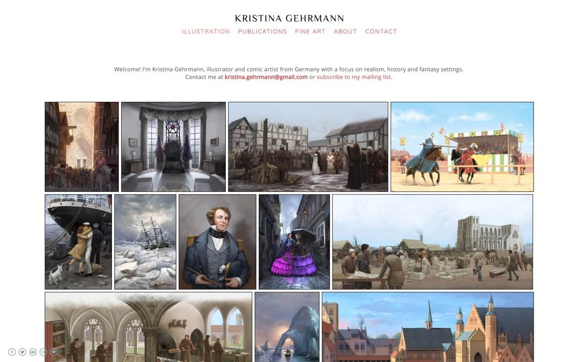 Kristina Gehrmann graphic novelist