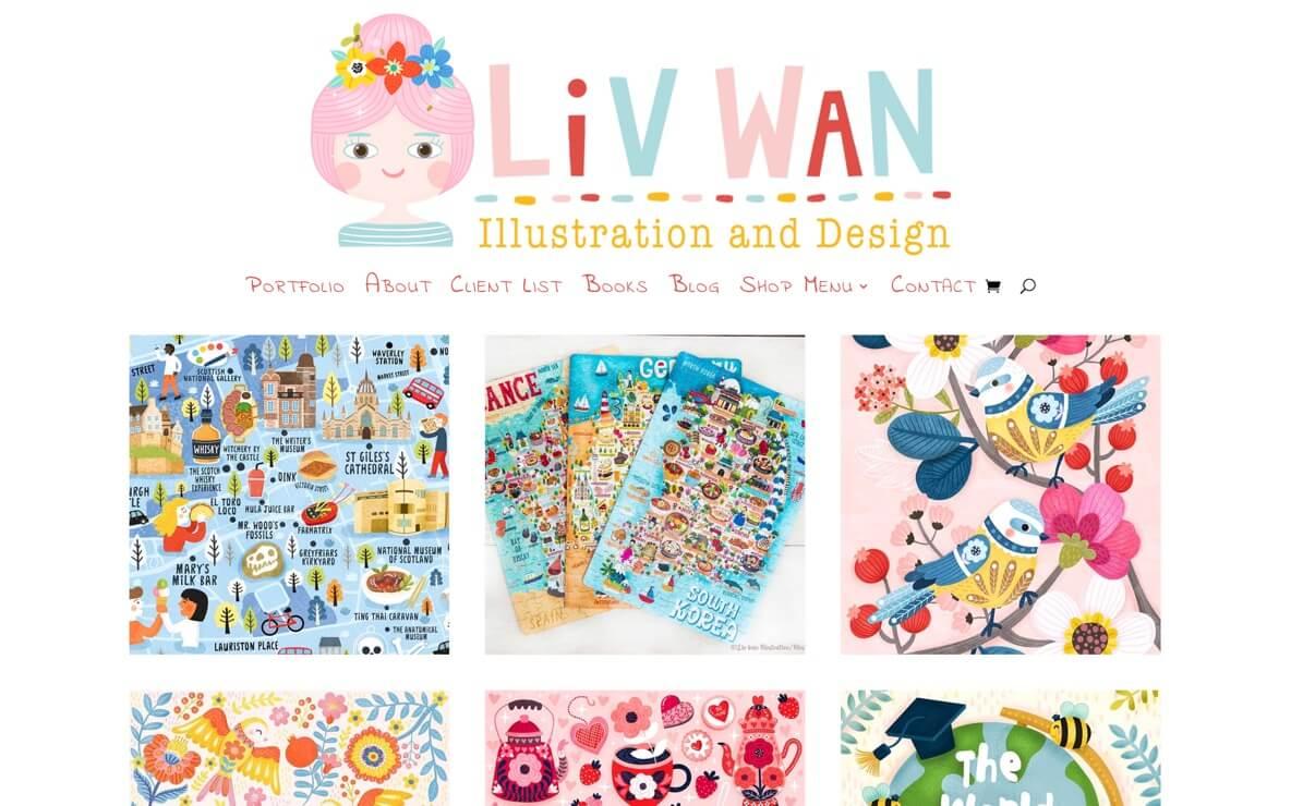 Liv Wan Drawings