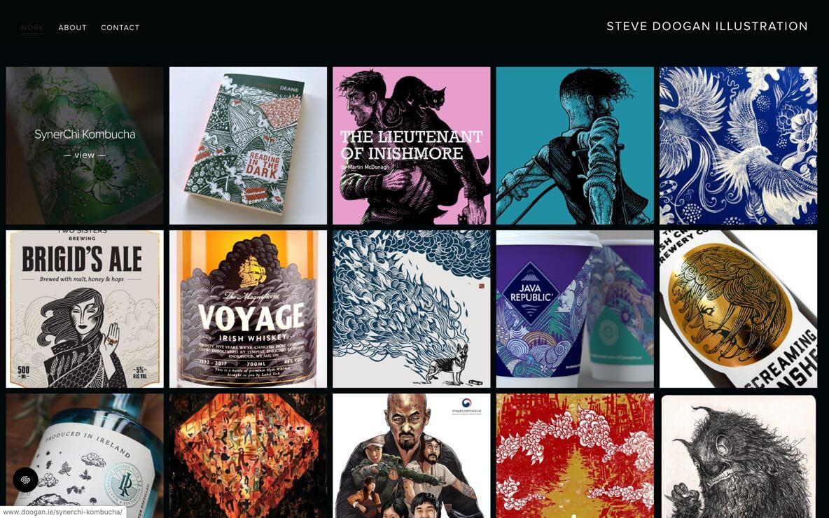 Steve Doogan Illustrations