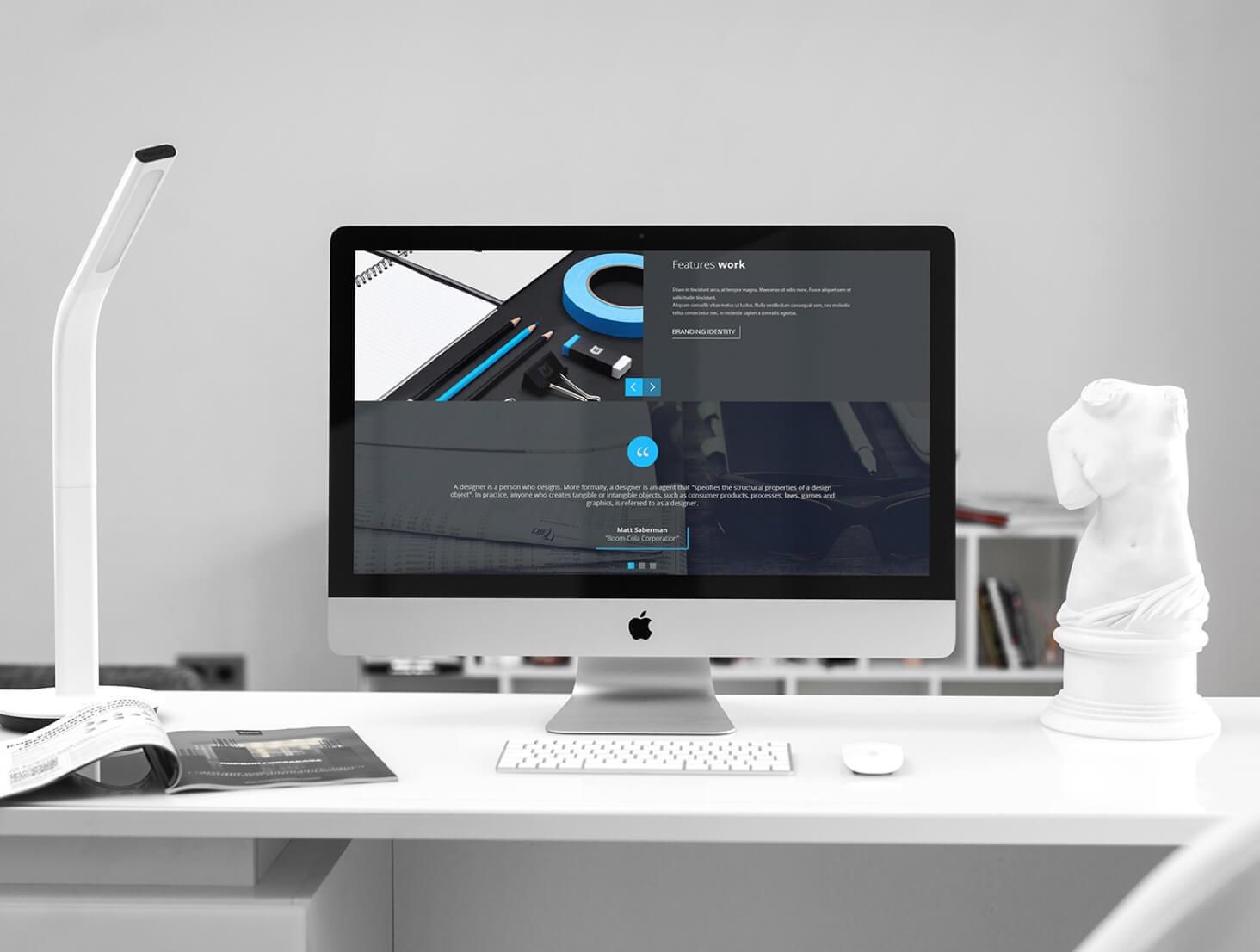 Photoshop iMac mockups