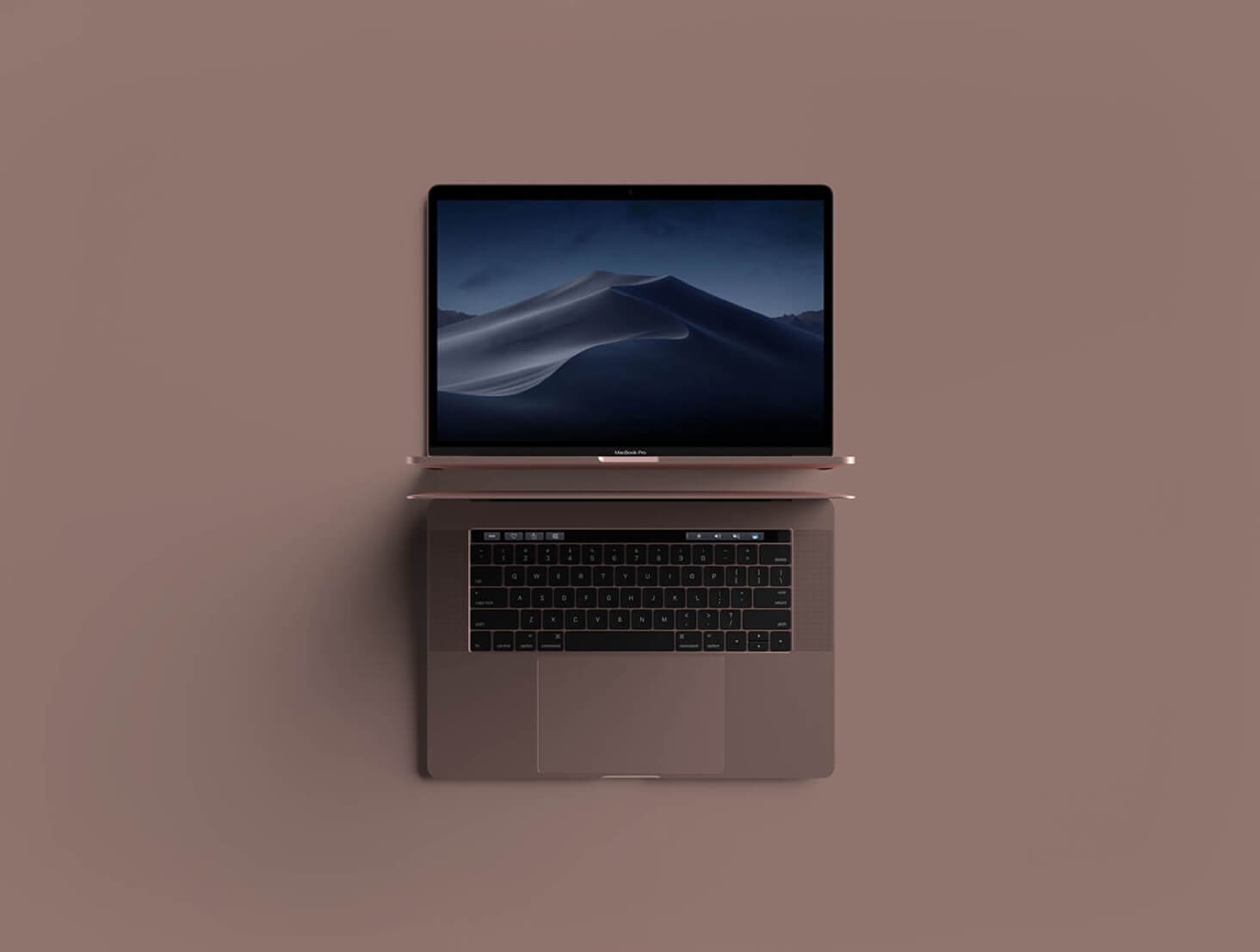PSD Macbook mockup