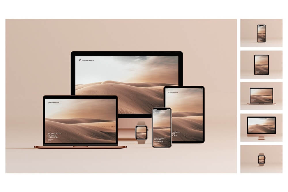 Devices mockups bundle