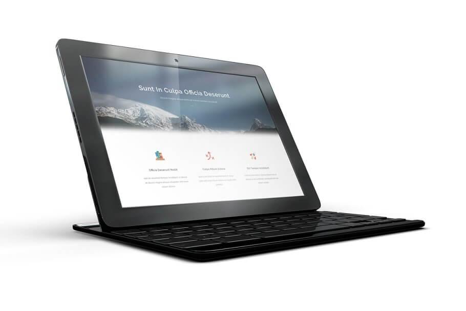 Google Pixel tablet mockup