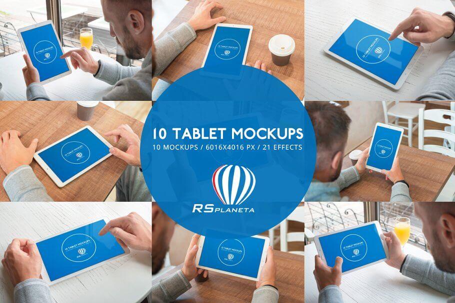 Samsung Galaxy Tab E mockups