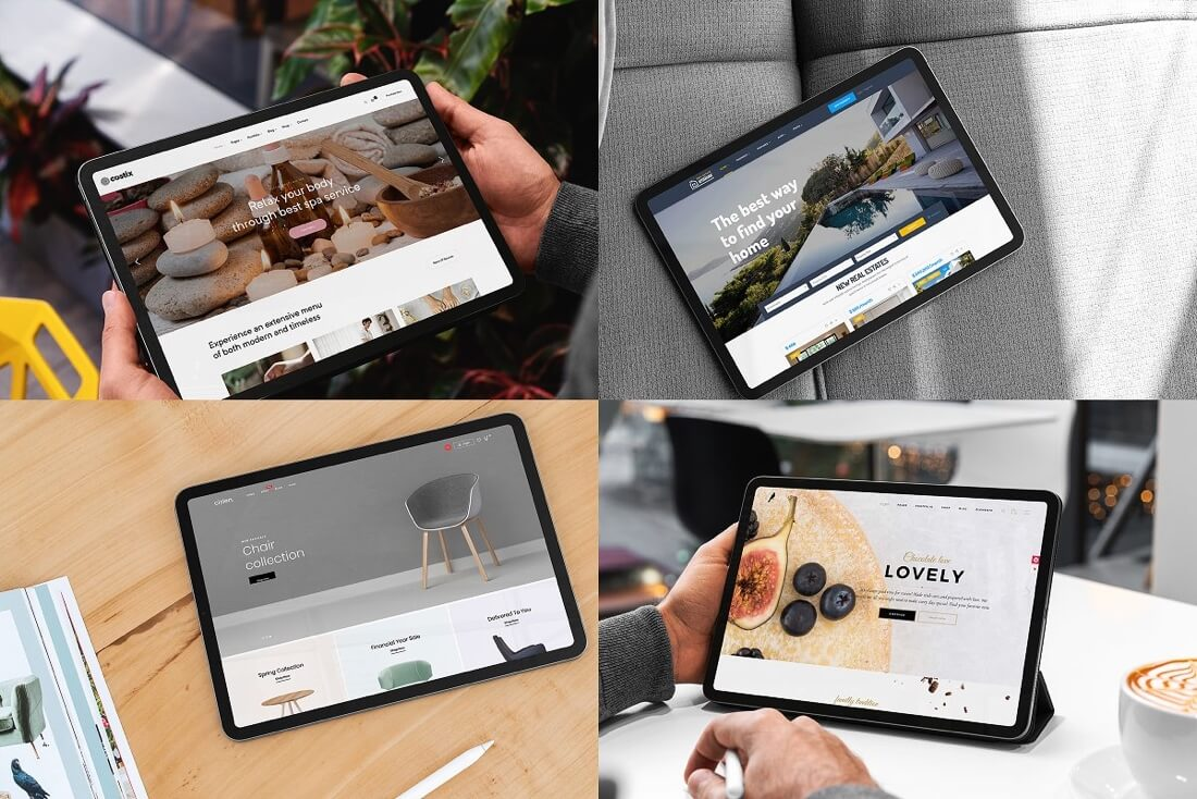 PSD iPad mockup devices