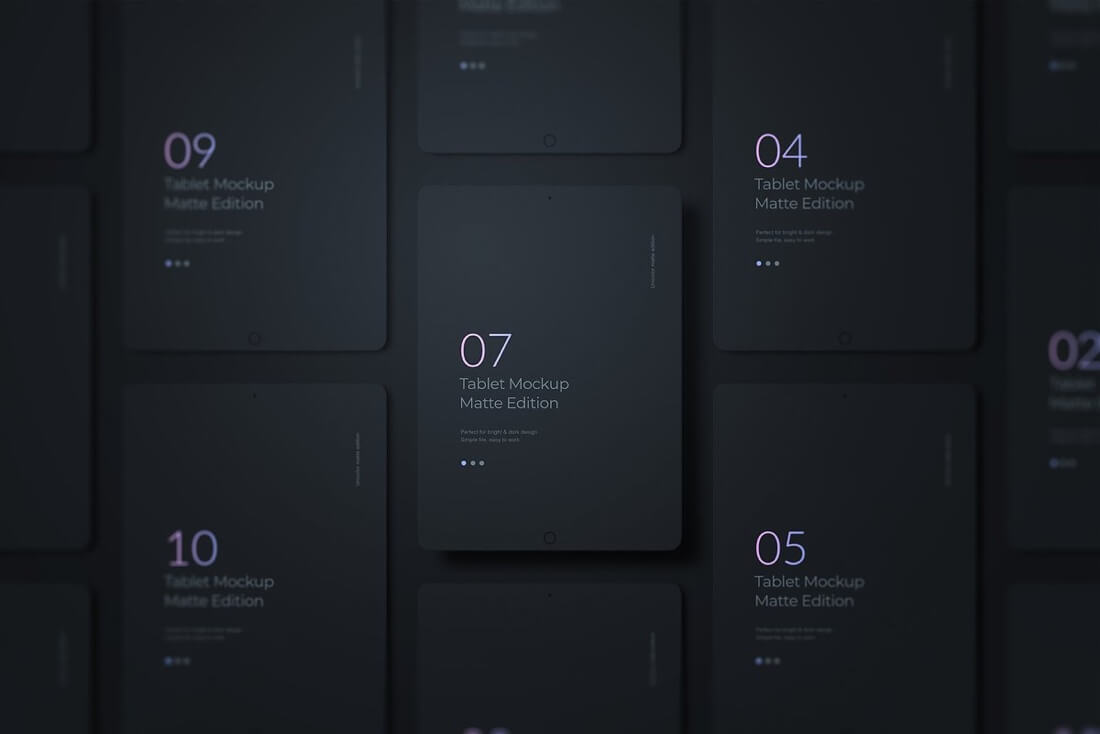 iPad scenes