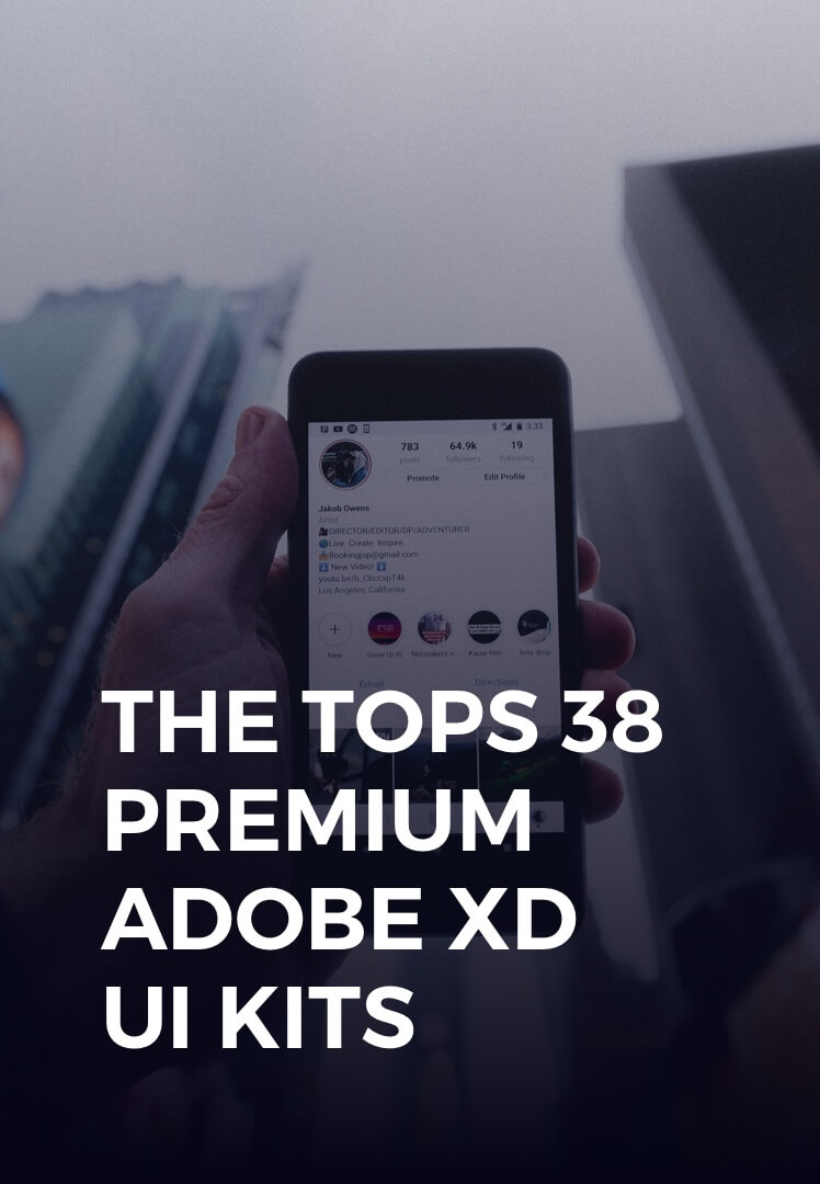 Premium Adobe XD UI Kits