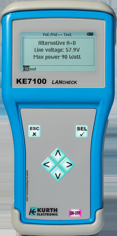 Kurth Electronic KE7100 LANcheck LAN Tester