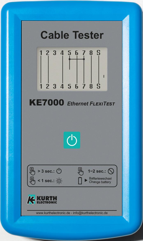 Kurth KE7000 Ethernet FlexiTest