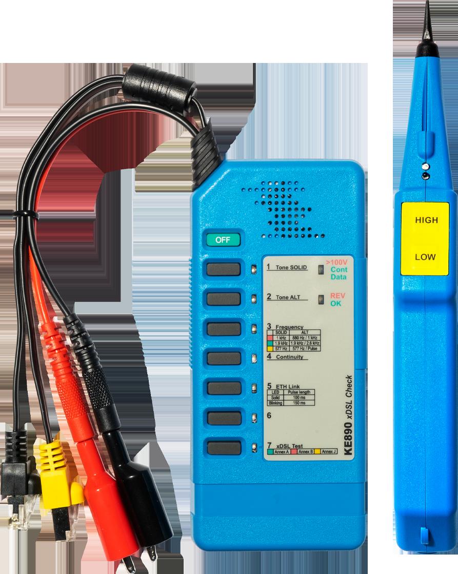 KE3100 xDSL Detection Kit