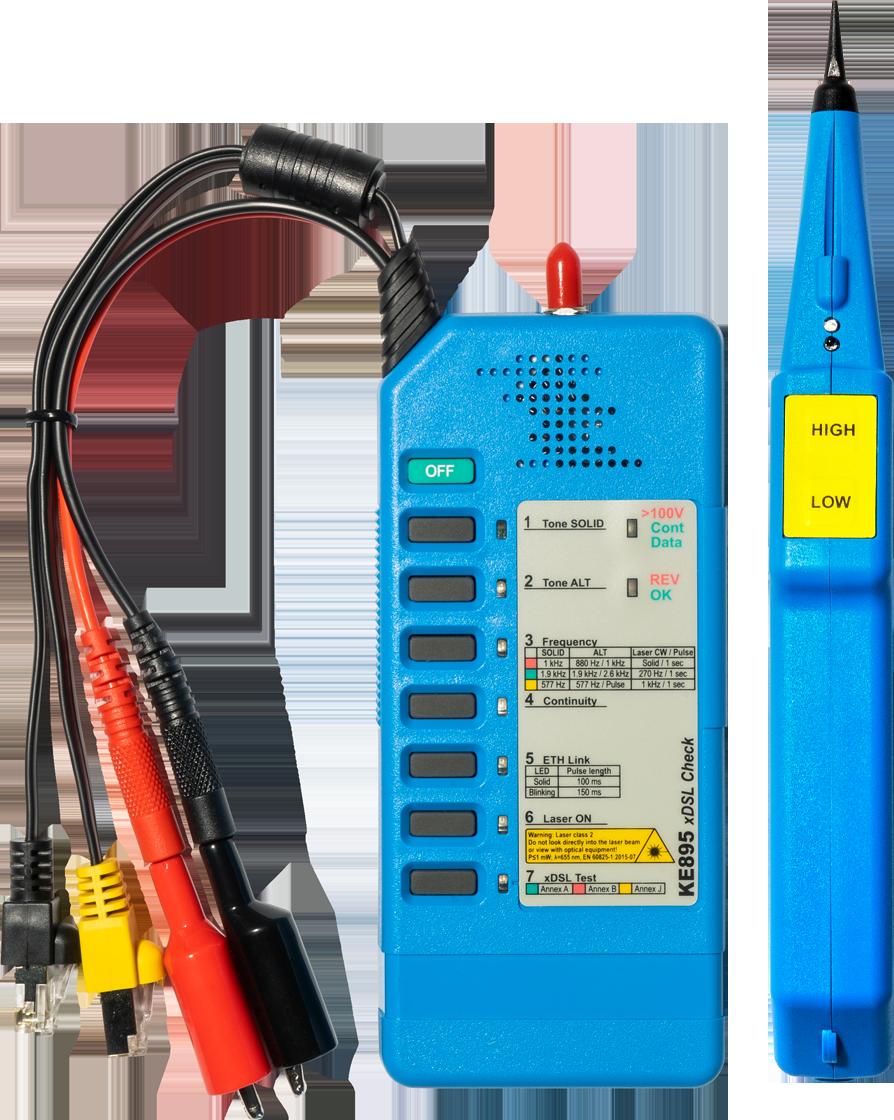 KE3150 xDSL Detection Kit with VFL