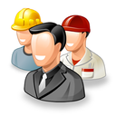 illustration of three workers