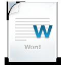word document icon