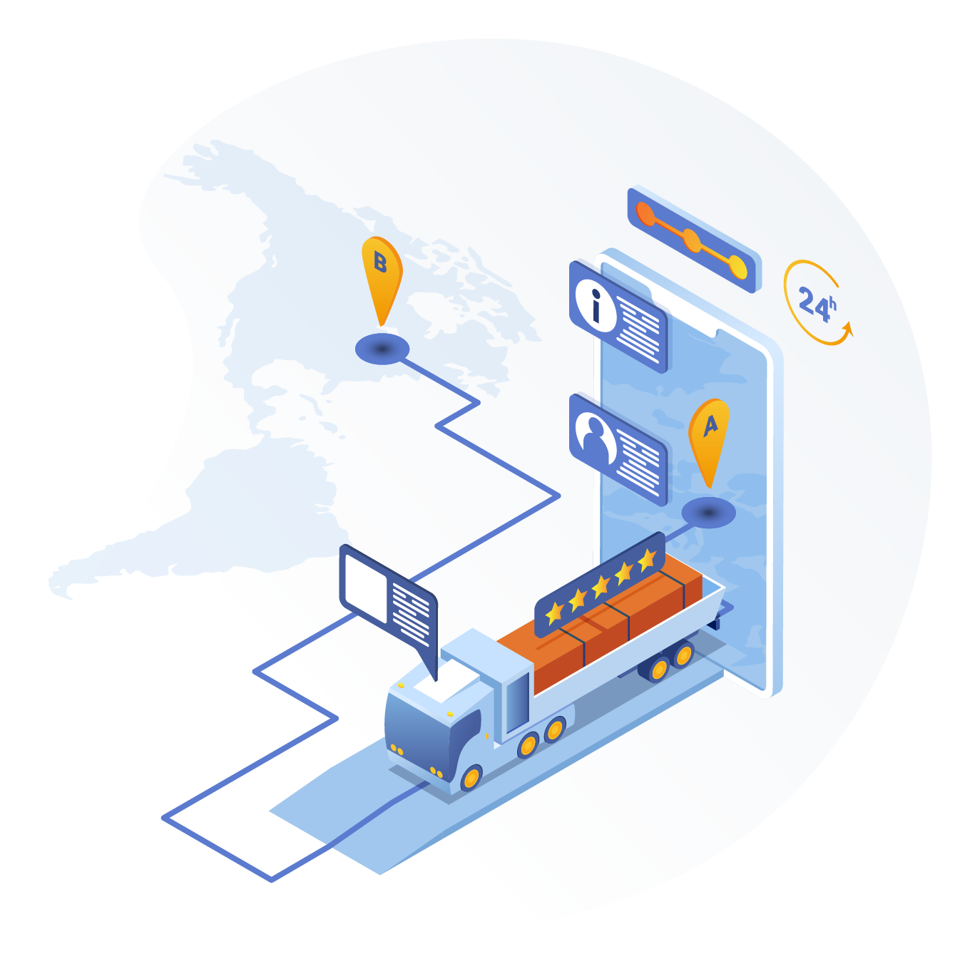 Our AI-Powered Logistics ChatBot features a proprietary combination of conversational AI, machine learning, natural language processing